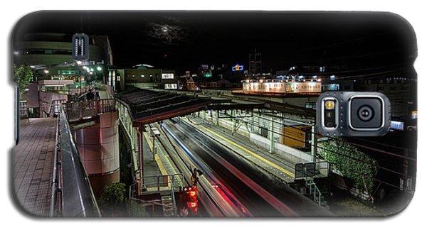 Japan Train Night Galaxy S5 Case