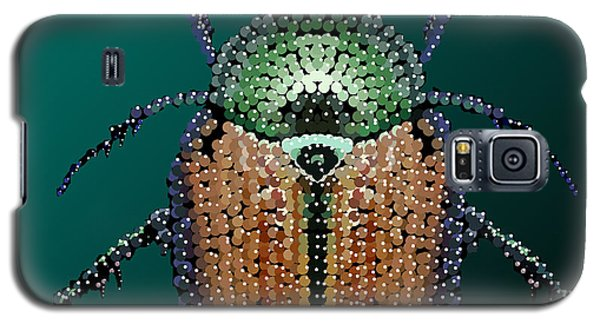 Japanese Beetle Bedazzled II Galaxy S5 Case