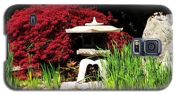 Galaxy S5 Case featuring the photograph Japanese Garden by Angela DeFrias
