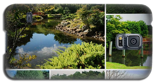 Japanese Gardens Collage Galaxy S5 Case by Therese Alcorn