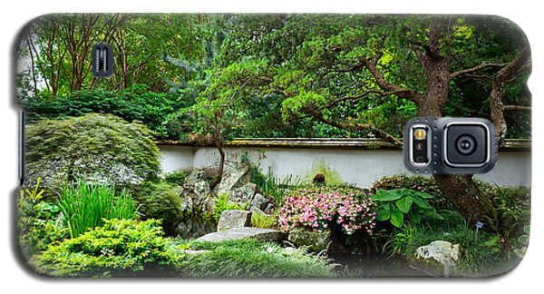 Japanese Gardens Galaxy S5 Case by Lisa L Silva