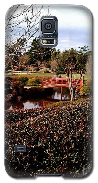Japanese Gardens Toowoomba Galaxy S5 Case by Therese Alcorn