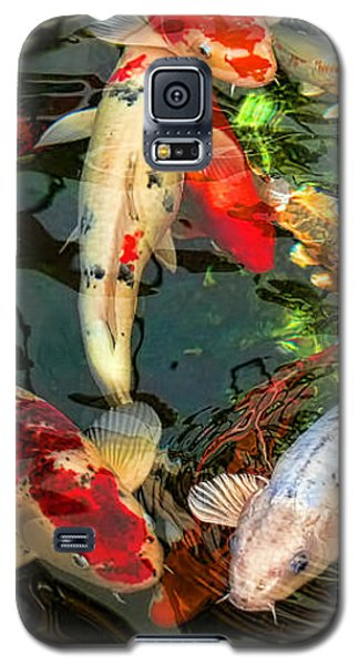 Japanese Koi Fish Pond Galaxy S5 Case