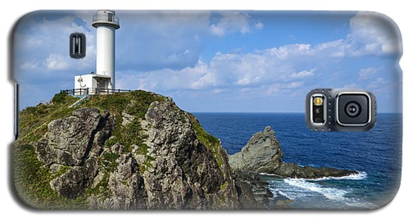 Japanese Lighthouse At Uganzaki Galaxy S5 Case