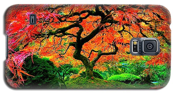 Japanese Red Maple Galaxy S5 Case