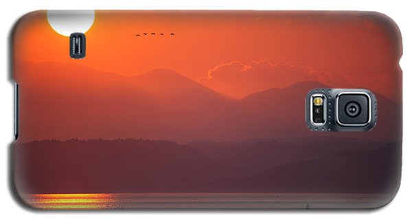 Japanese Sunset Galaxy S5 Case