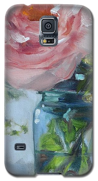 Jar Of Pink Galaxy S5 Case by Donna Tuten