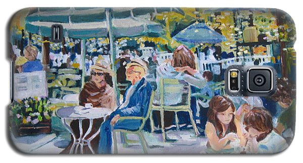 Galaxy S5 Case featuring the painting Jardin Du Luxembourg by Julie Todd-Cundiff