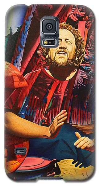 Galaxy S5 Case featuring the painting Jason Hann At Horning's Hideout by Joshua Morton