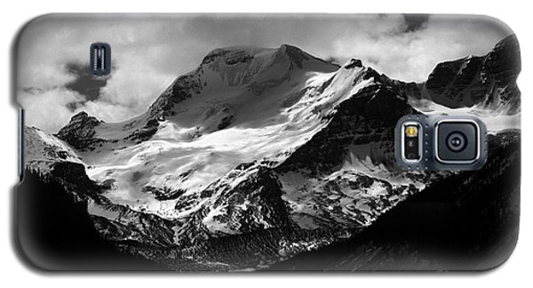 Jasper - Mt. Athabasca Monochrome Galaxy S5 Case