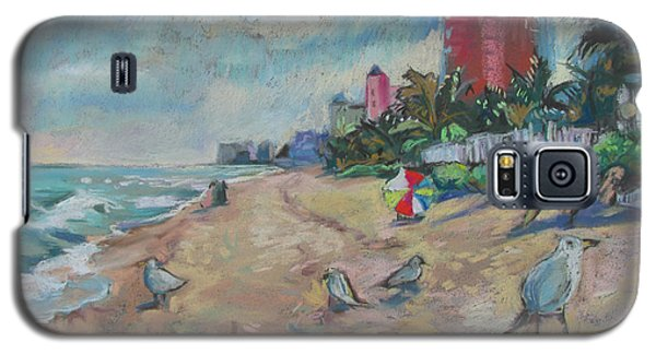 Jaunty Beach Birds Galaxy S5 Case