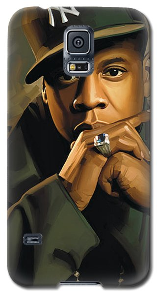 Jay-z Artwork 2 Galaxy S5 Case by Sheraz A