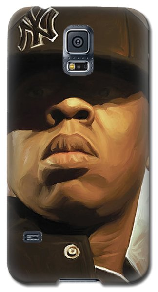 Jay-z Artwork Galaxy S5 Case by Sheraz A