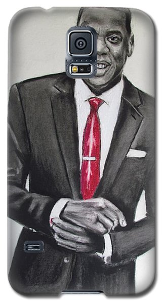 Jay Z Galaxy S5 Case by Eric Dee