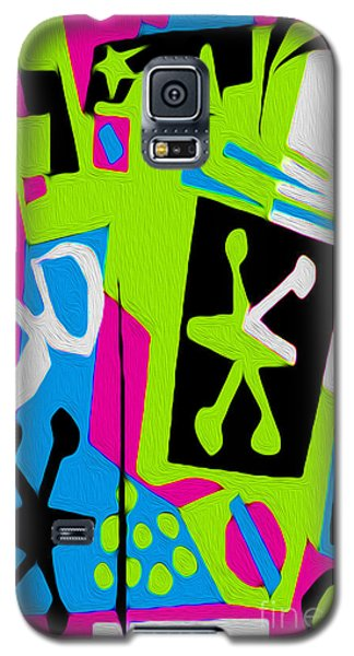 Jazz Art - 05 Galaxy S5 Case by Gregory Dyer