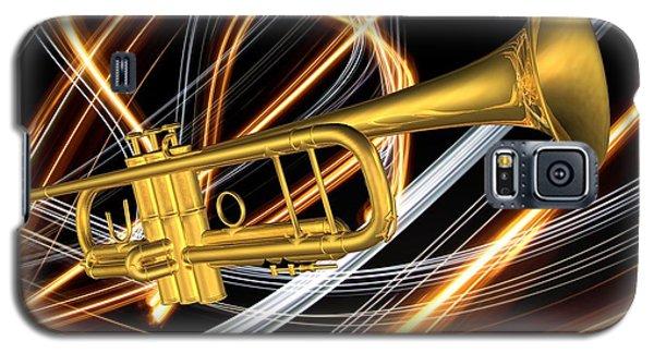 Jazz Art Trumpet Galaxy S5 Case