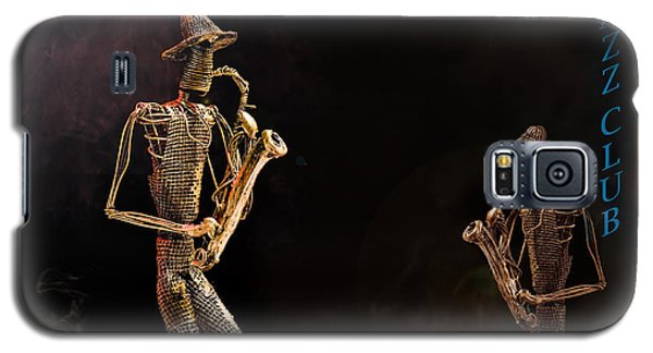 Galaxy S5 Case featuring the photograph Jazz Club by Trevor Chriss