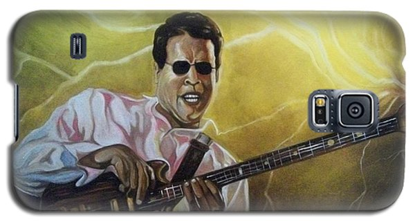 Galaxy S5 Case featuring the painting Jazz by Emery Franklin