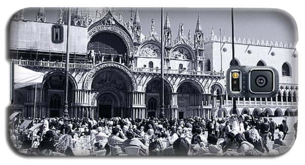 Jazz In Piazza San Marco Black And White  Galaxy S5 Case