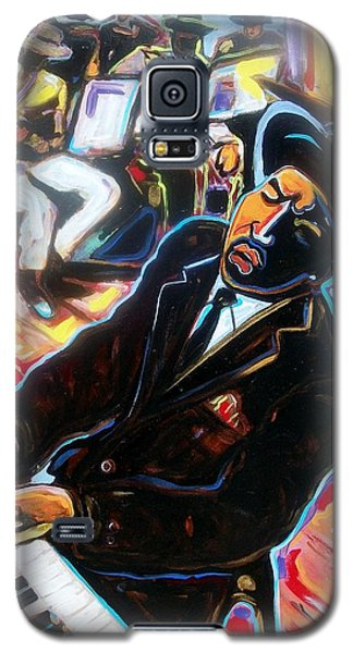 Galaxy S5 Case featuring the painting Jazz Man by Emery Franklin
