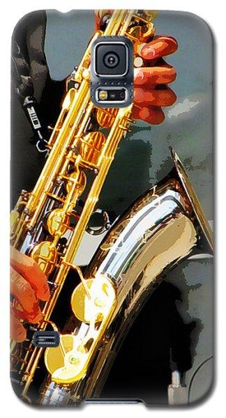Jazz Man Galaxy S5 Case by John Freidenberg