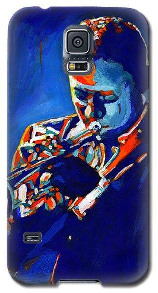 Trumpet Galaxy S5 Case - Jazz Man Miles Davis by Vel Verrept