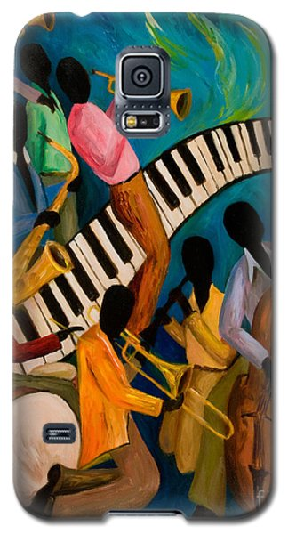 Jazz On Fire Galaxy S5 Case by Larry Martin