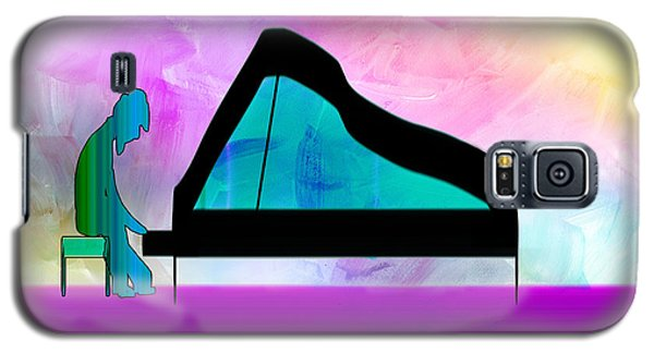 Jazz Pianist Galaxy S5 Case by Frank Bright