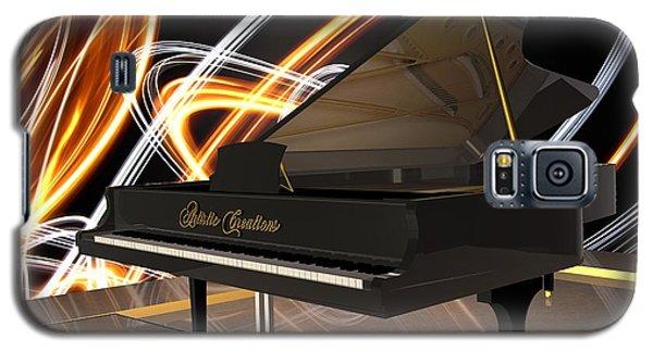 Jazz Piano Bar Galaxy S5 Case