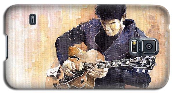 Impressionism Galaxy S5 Case - Jazz Rock John Mayer 02 by Yuriy Shevchuk