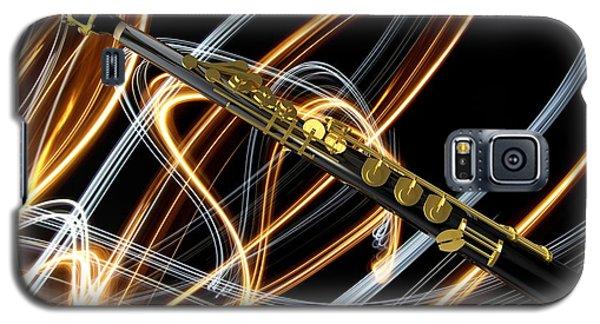 Jazz Soprano Sax Galaxy S5 Case