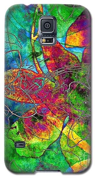 Galaxy S5 Case featuring the digital art Jazzy by Darla Wood