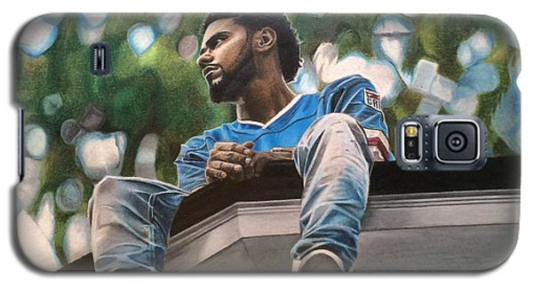 J.cole - 2014 Forest Hills Drive Drawing Galaxy S5 Case