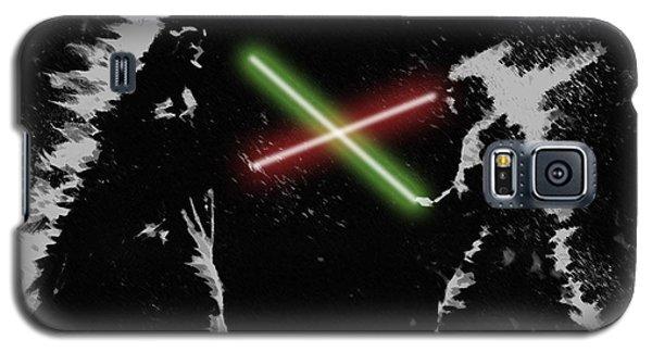 Jedi Duel Galaxy S5 Case by George Pedro
