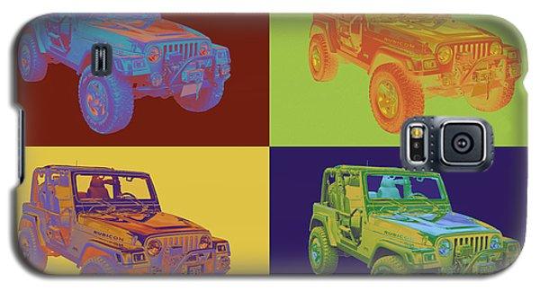 Jeep Wrangler Rubicon Pop Art Galaxy S5 Case