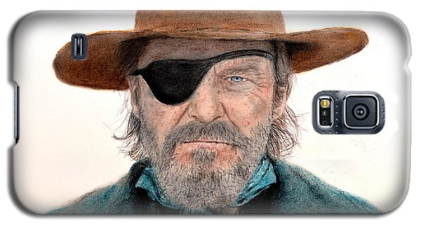 Jeff Bridges As U.s. Marshal Rooster Cogburn In True Grit  Galaxy S5 Case by Jim Fitzpatrick