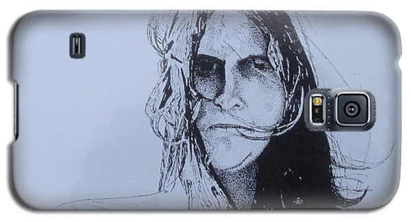 Galaxy S5 Case featuring the drawing Jeff by Stuart Engel