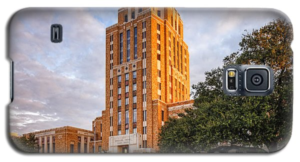 Jefferson County Courthouse At Sunrise - Beaumont East Texas Galaxy S5 Case