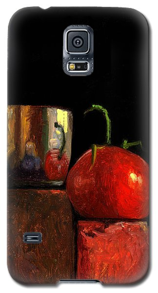 Jefferson Cup With Tomato And Sedona Bricks Galaxy S5 Case
