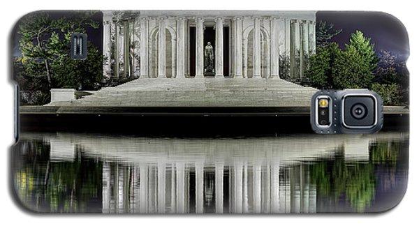 Jefferson Memorial - Night Reflection Galaxy S5 Case