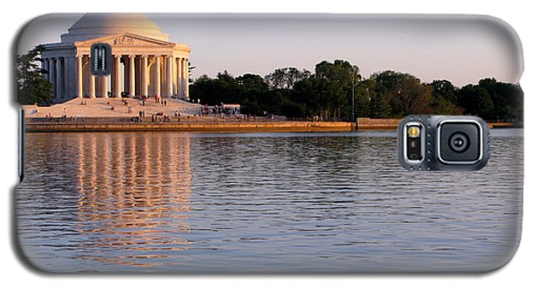 Jefferson Memorial Galaxy S5 Case by Olivier Le Queinec