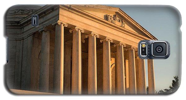 Jefferson Memorial Sunset Galaxy S5 Case by Steve Gadomski