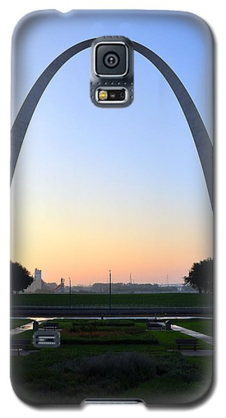 Jefferson National Expansion Memorial Galaxy S5 Case by Matthew Chapman