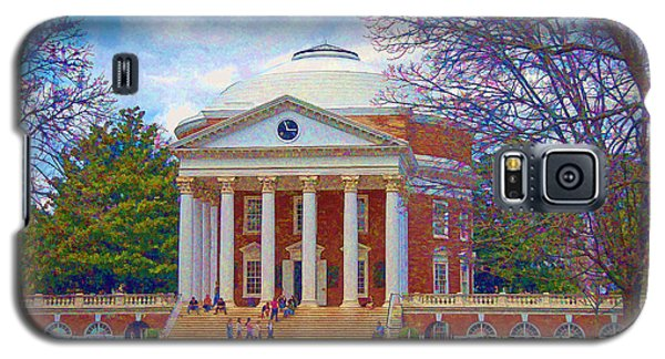 Jefferson's Rotunda At Uva Galaxy S5 Case