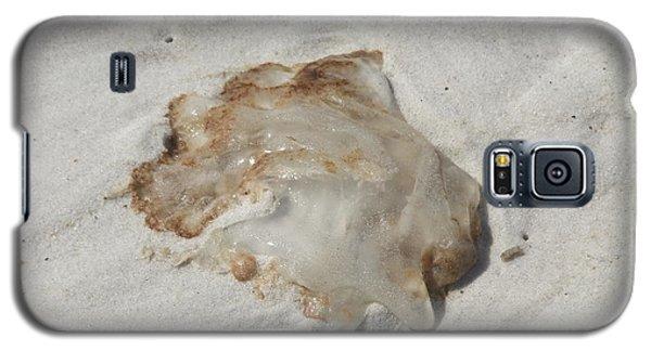 Galaxy S5 Case featuring the photograph Jellyfish Moon Or Mushroom by Deborah DeLaBarre