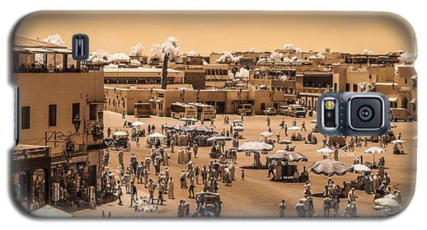 Jemaa El Fna Market In Marrakech At Noon Galaxy S5 Case