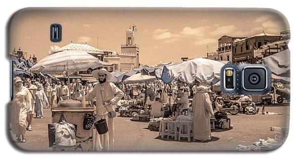 Jemaa El Fna Market In Marrakech Galaxy S5 Case