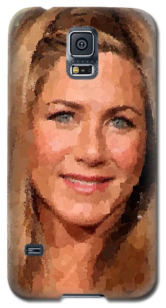 Jennifer Aniston Portrait Galaxy S5 Case