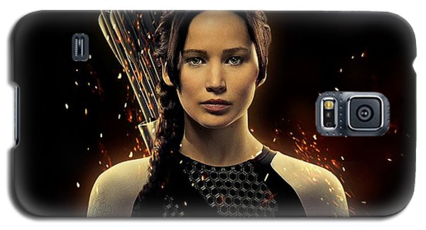 Jennifer Lawrence As Katniss Everdeen Galaxy S5 Case