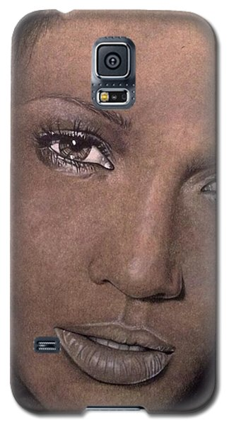 Jennifer Lopez Galaxy S5 Case by Angelee Borrero